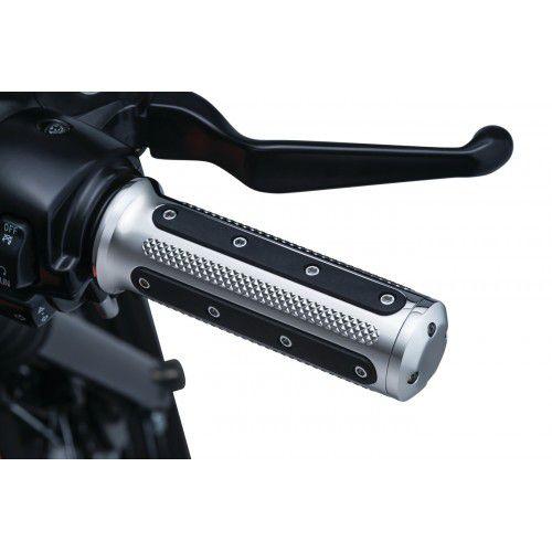 Manopla Cromada Modelo Heavy cromada - Harley Davidson com acelerador a cabo