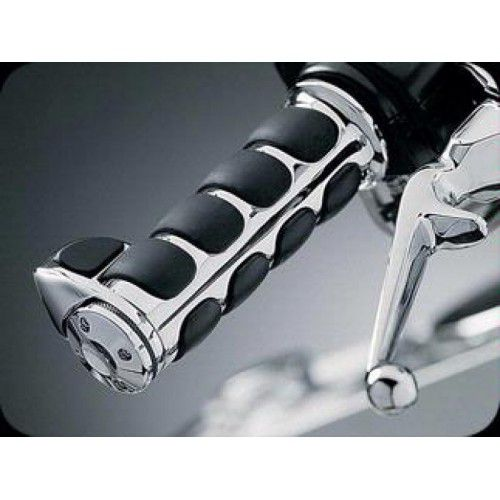 Manopla Modelo Iso com Apoio para o Punho para Harley Davidson com Acelerador Eletrônico