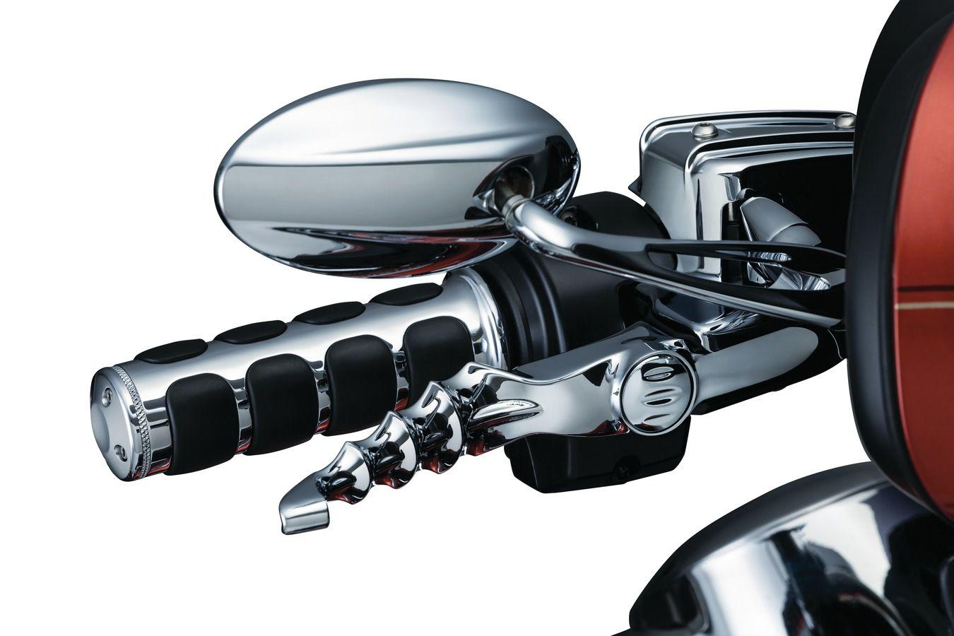 Manopla Modelo Iso para Harley Davidson com Acelerador A Cabo