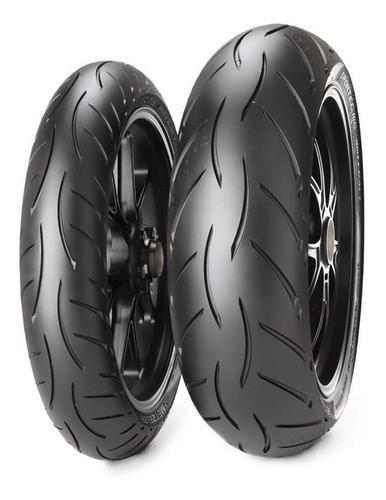 Par De Pneu Ducati Monster 1200 Metzeler Sportec M5