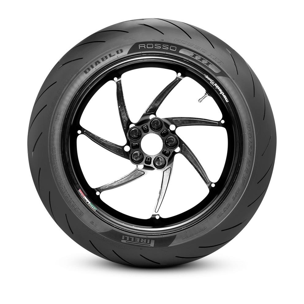 Par De Pneu Ducati Monster 797 Pirelli Diablo Rosso Iii 3