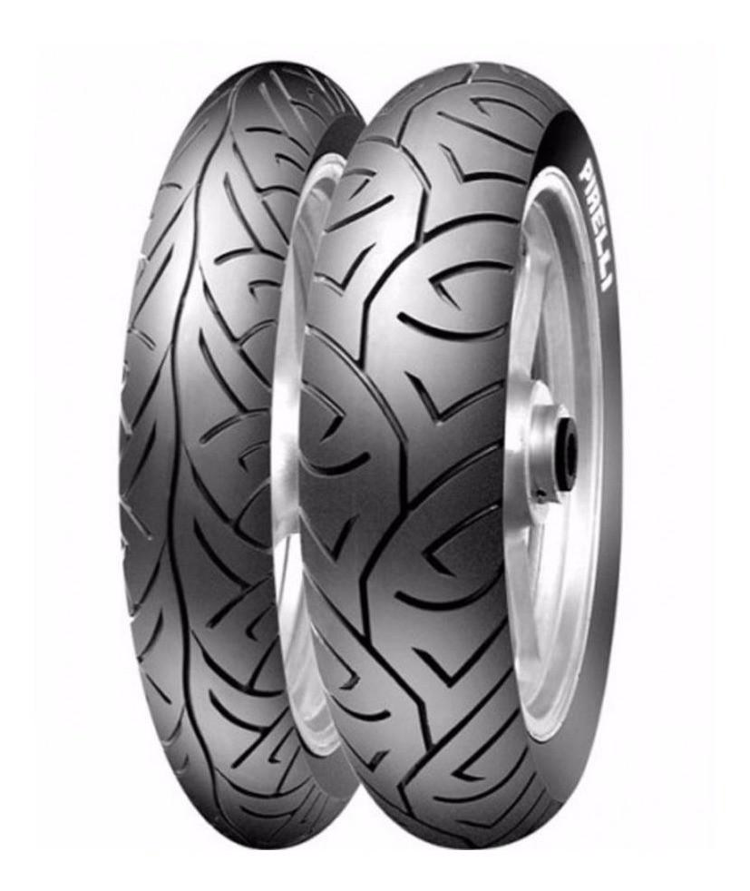Par Pneu Fazer 250 Twister 250 Pirelli Sport Demon