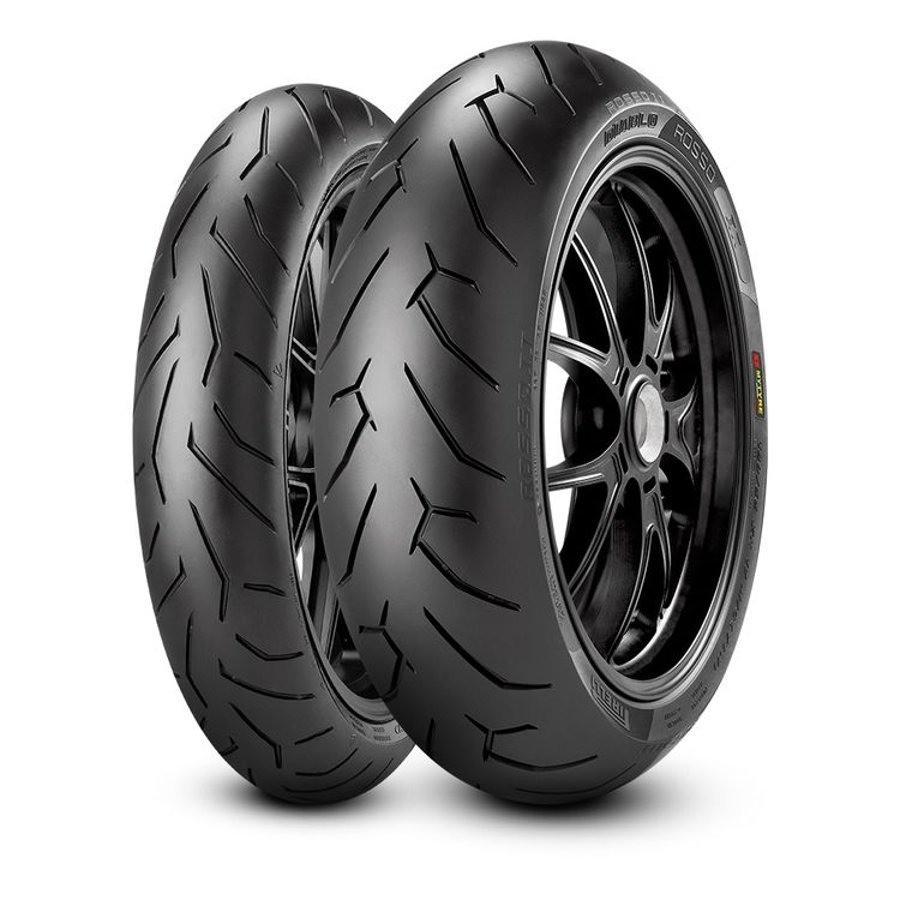 Par Pneu Honda Nc750 Pirelli Diablo Rosso Ii 2 120 + 160