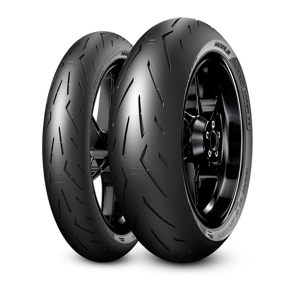 Par Pneu Pirelli Diablo Rosso Corsa 2 Cb650f Cb650 F