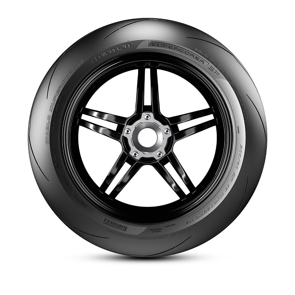 Par Pneu Pirelli Diablo Supercorsa SP V3 140/70zr17 + 110/70zr17
