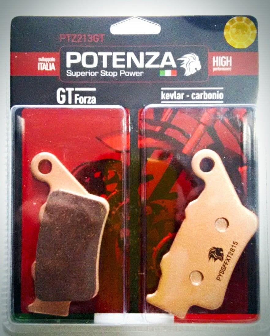 Pastilha Freio Potenza Ptz213gt Husqvarna Te 350 Traseira