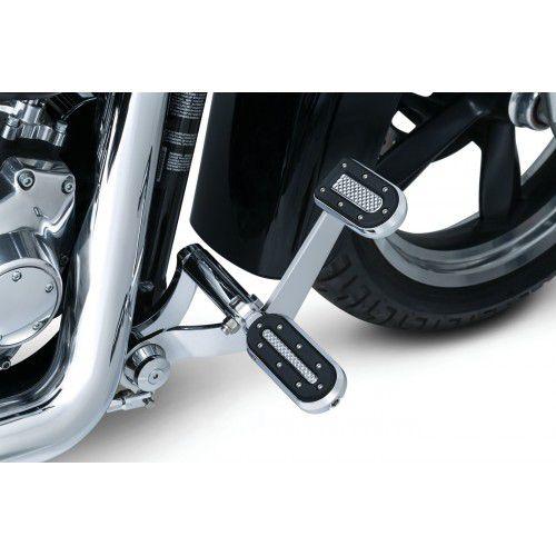 Pedaleira Cromada Modelo Heavy - Tds. Harley Davidson (Exceto '11-'17 Xl1200C Sportster Custom, '12-'16 Xl1200V Sportste
