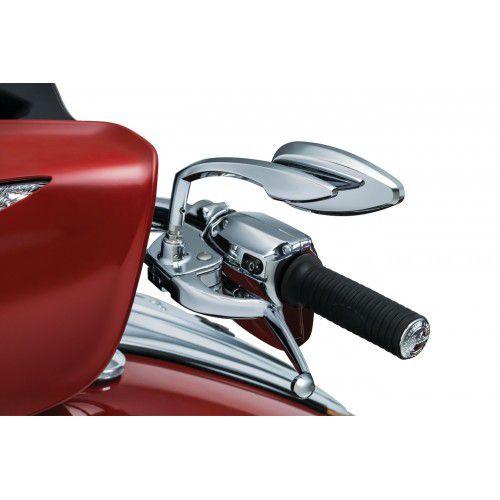 Retrovisor Modelo Teardrop - Cromado - Harley Davidson & outras Marcas de Motocicletas, Reque