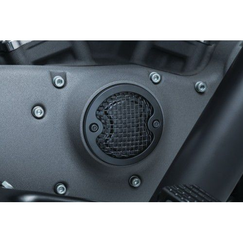 Timing cover preto modelo Mesh - Kuryakyn