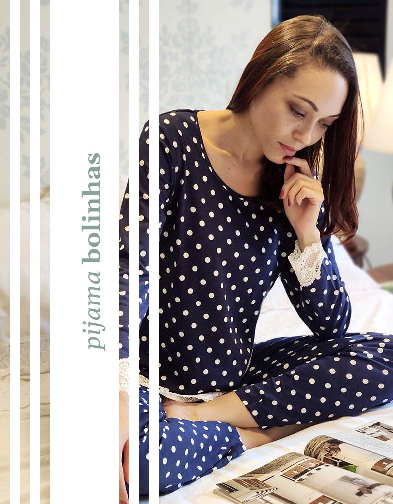 Pijama de Bolinhas