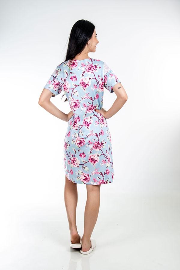 Camisola Floral Chanel de renda