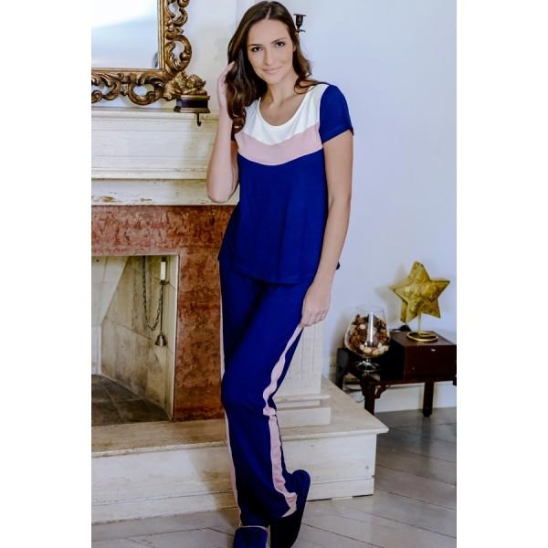 Pijama Feminino Curto Pala 3 Cores