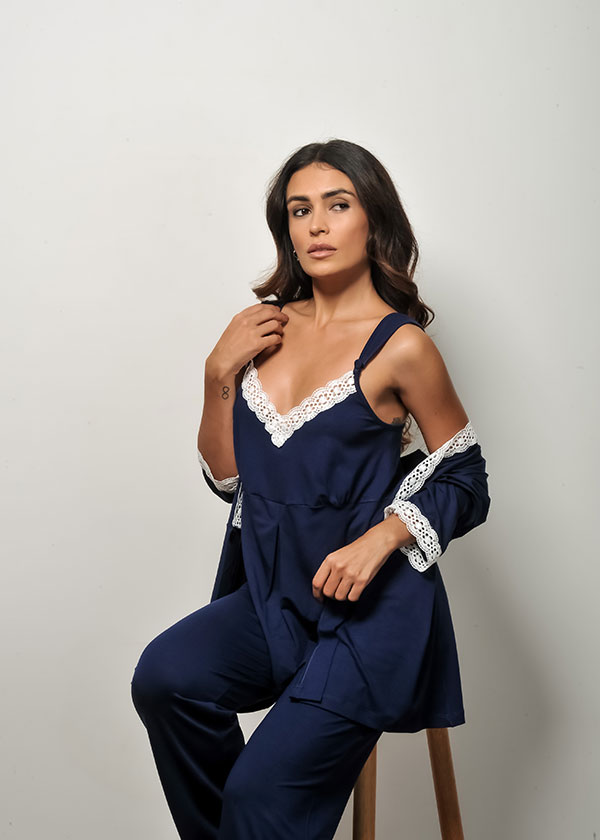 Pijama Feminino para Gestante