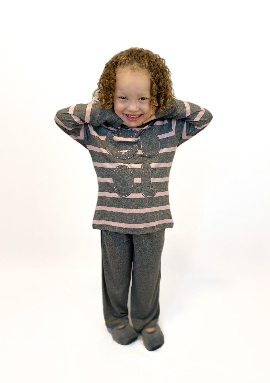 Pijama Infantil Feminino COOL