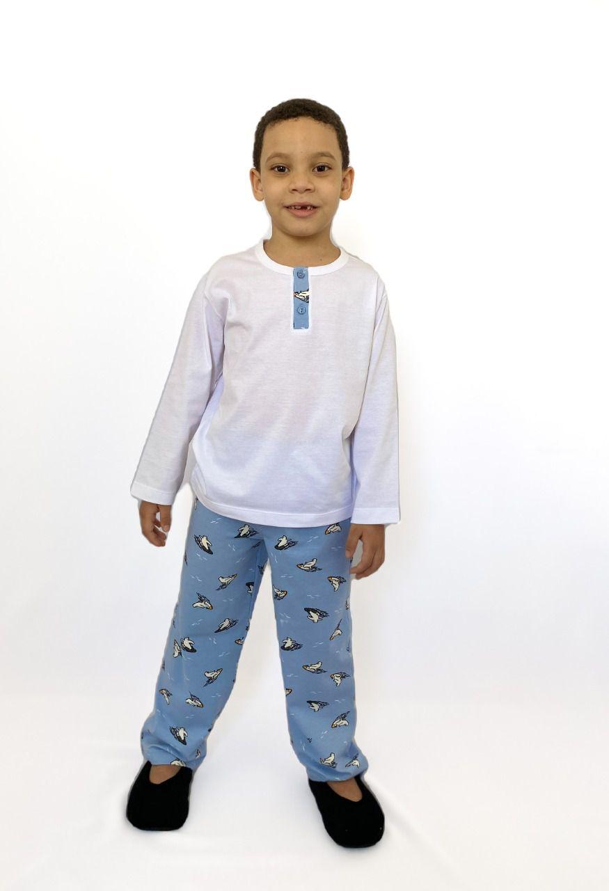 Pijama Infantil Masculino Urso Polar