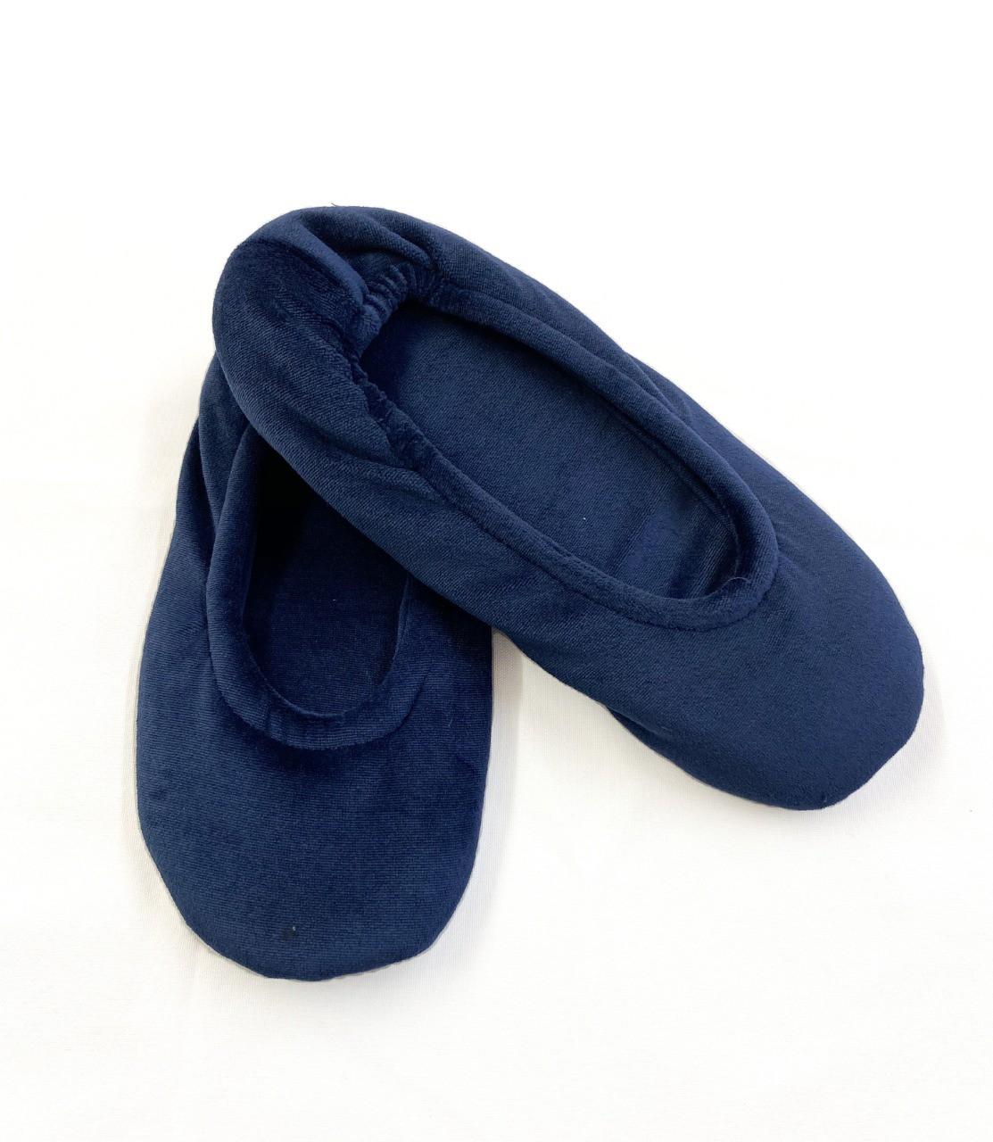 Sapatilha Plush - Azul Marinho