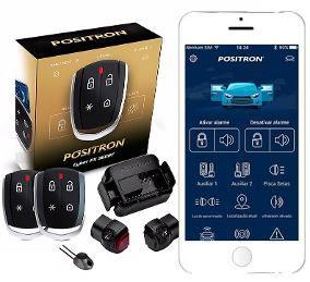 Alarme Positron PX 360BT 2 Controles Bluetooth/Resgate