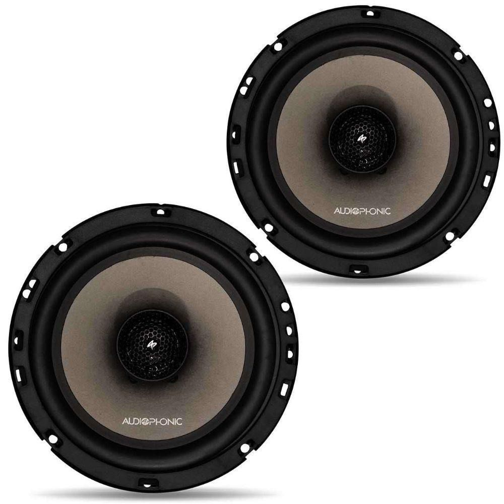 Alto Falante 6 Polegadas Coaxial Audiophonic Coaxial CS 650.V2 - 110 Watts RMS