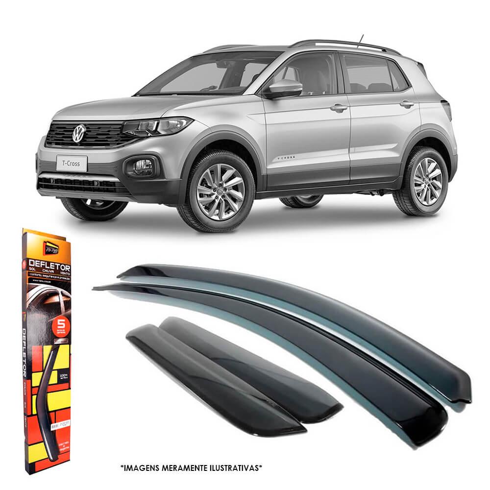 Calha de Chuva Volkswagen T-Cross 2019 a 2020 4 Portas TG Poli - 22021