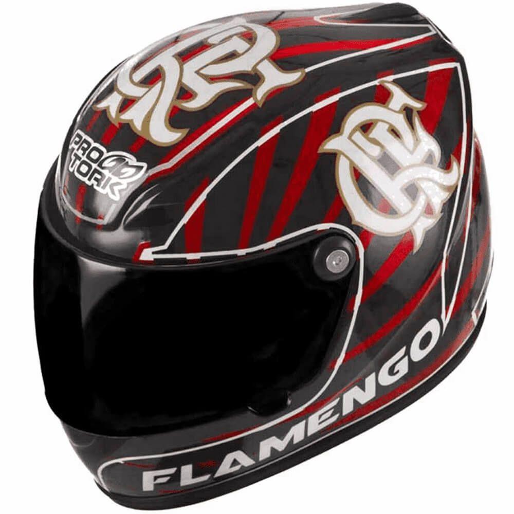 Capacete Pro Tork Mini Decorativo Flamengo CAP-383