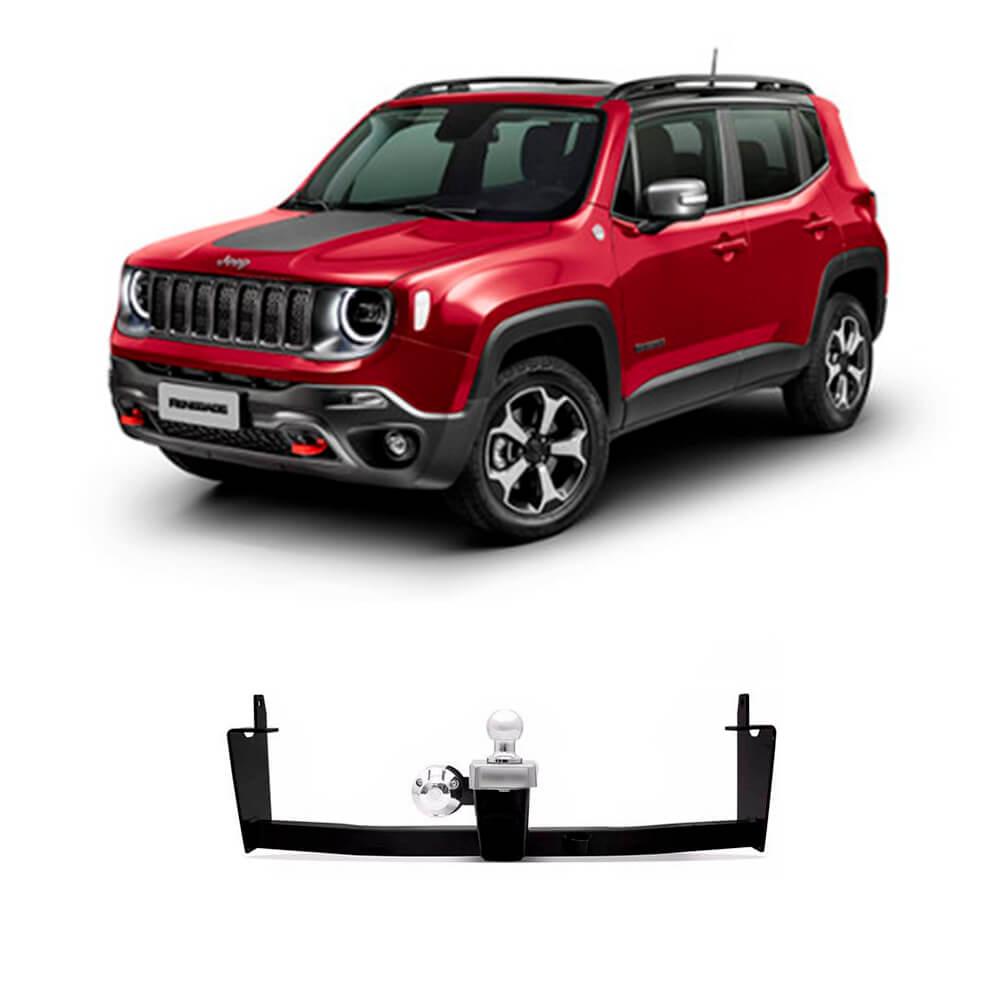 Engate Jeep Renegade Reboque 2015 2016 2017 2018 2019 Braconi IM132