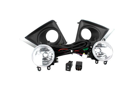 Kit Farol de Milha Corolla 2014-2020 com Moldura Shocklight SL-251010CR