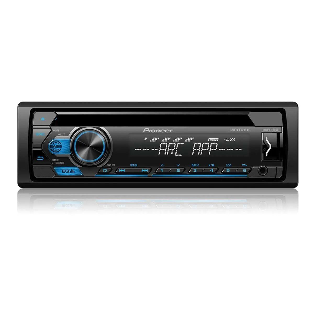 Som Automotivo CD DEH-S1180UB Pioneer 1DIN USB FM AM ARC Mixtrax