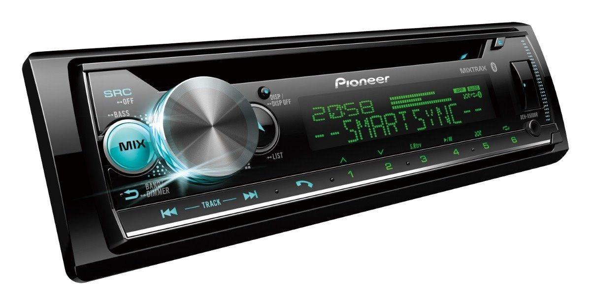 Som Automotivo DEH-X500BR Pioneer 1 DIN BT USB Mixtrax