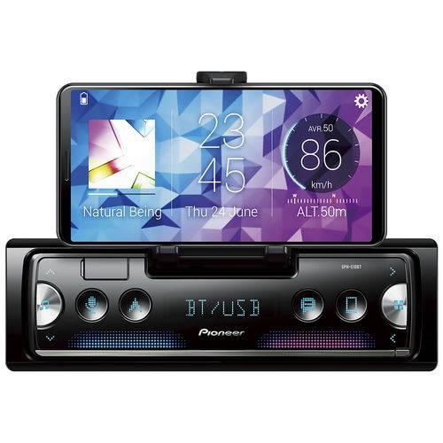 Som Automotivo SPH-C10BT Pioneer 1Din Smartphone Media Receiver BT USB