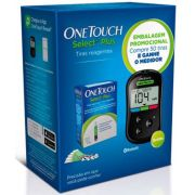 Kit One Touch Select Plus - 50 Tiras com Medidor
