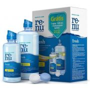 Kit Renu Plus 355ml + 120ml + Estojo para Lentes