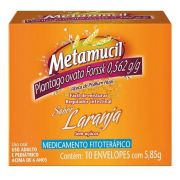 Metamucil Laranja 10 Envelopes com 5,85g