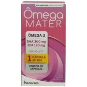 Omega Mater 30 cápsulas
