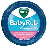 Pomada Calmante Vick Babyrub 12g