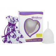 Coletor Menstrual Violeta Cup Tipo A Transparente
