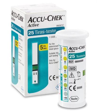 Accu-Chek Active 25 Tiras