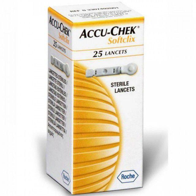 Accu-Chek Lancetas com 25 tiras