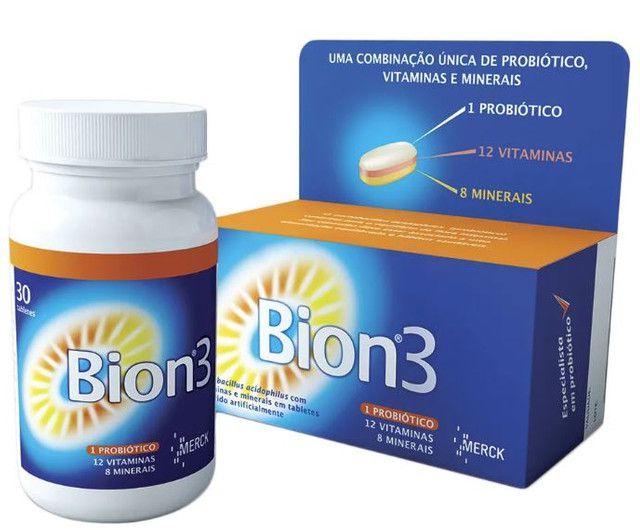 Bion 3 Complexo Vitamínico com 30 tabletes