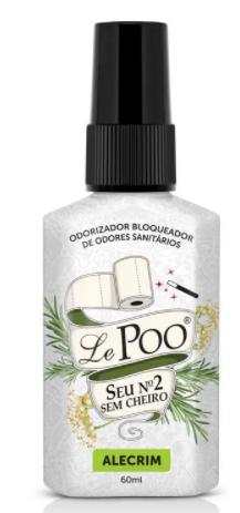 Bloqueador de Odores Lepoo Alecrim 60ml