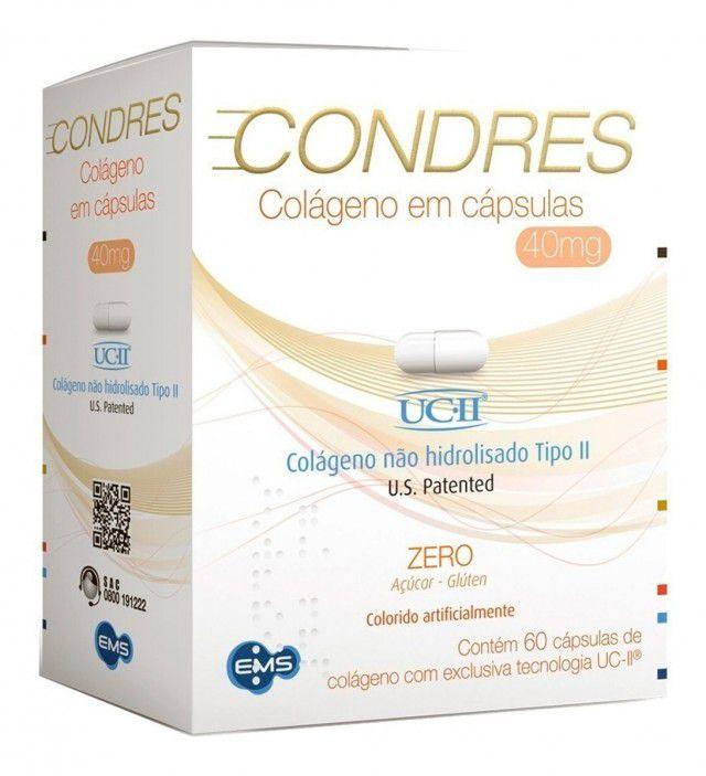 Colágeno Condres 40mg 60 cápsulas