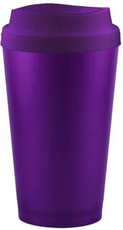 Copo Higienizador Violeta Cup 2 em 1