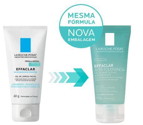 Gel de Limpeza Facial Effaclar Alta Tolerância La Roche-Posay 60g