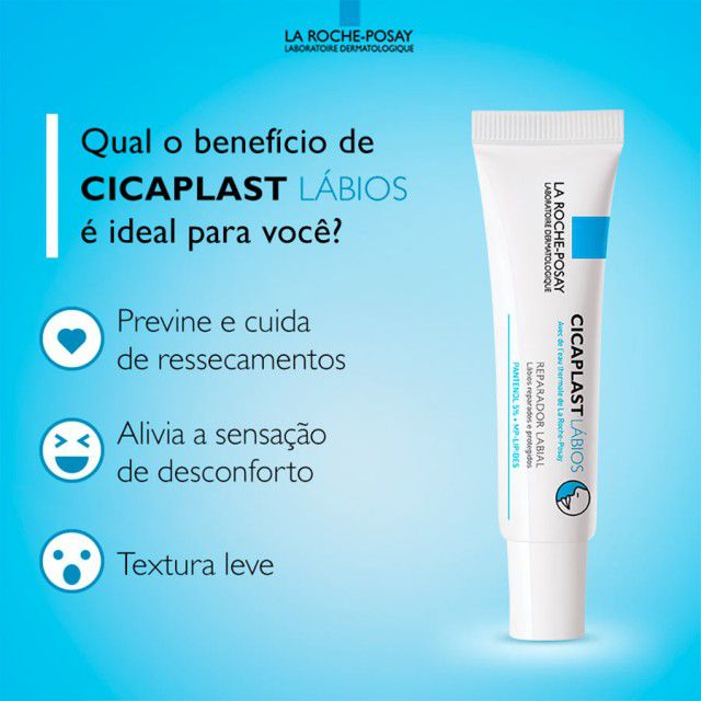 Hidratante Labial Cicaplast La Roche-Posay 7,5ml