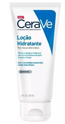 Loção Hidratante Cerave Pele Seca e Extra Seca 200ml