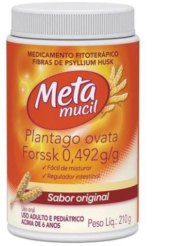 Metamucil Frasco Original 210g