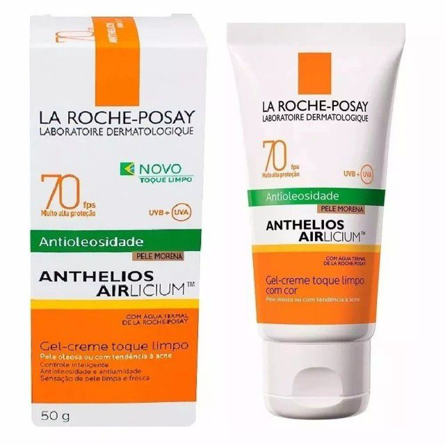 Protetor Solar Anthelios Airlicium FPS70 Morena La Roche-Posay 50g
