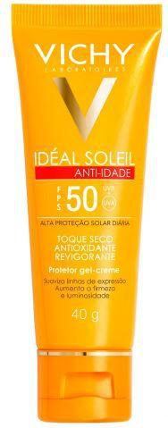 Protetor Solar Idéal Soleil Anti-idade Vichy FPS50 40g