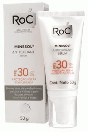 Protetor Solar ROC Minesol Antioxidante Gel Creme FPS30 50g