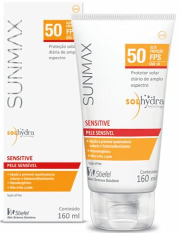 Protetor Solar Sunmax Sensitive FPS50 60ml