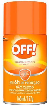 Repelente Aerosol Off! 165ml